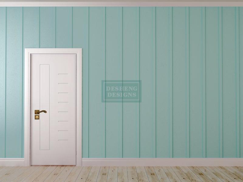 Desheng Wood Industry-Select And Uniform Scale Lines Design Pvc Door Ds-v29 | Pvc Door-8