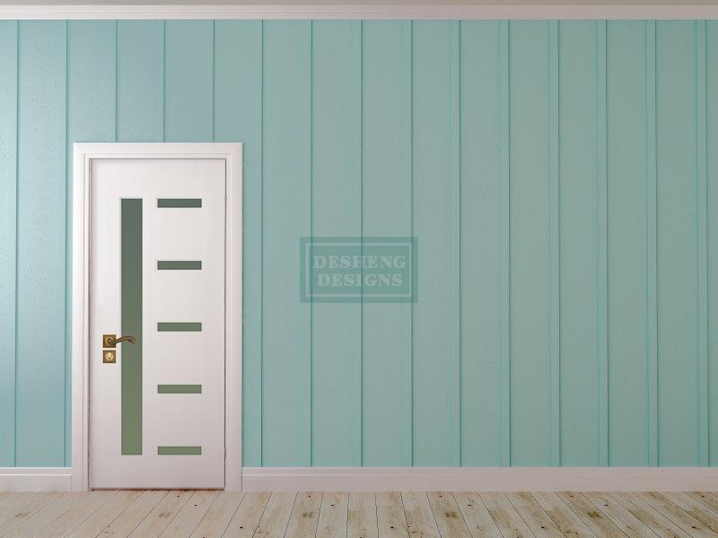 Desheng Wood Industry-Select And Uniform Scale Lines Design Pvc Door Ds-v29 | Pvc Door-9