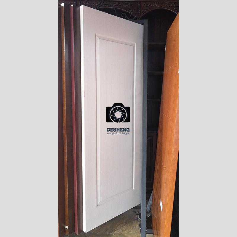 Passway molding embossed simple rectangular design modern Melamine door