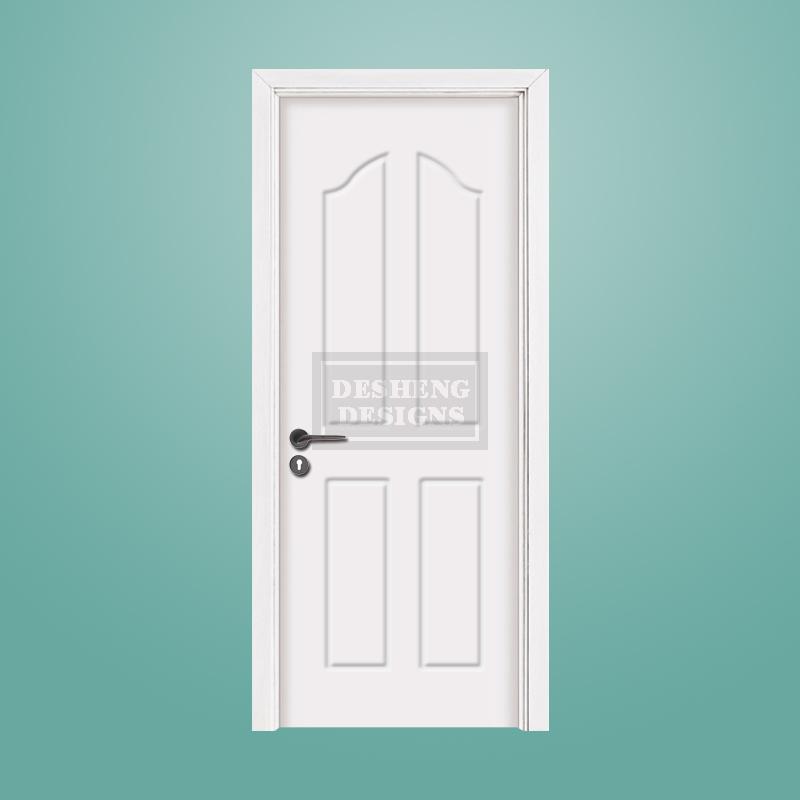 Desheng Wood Industry-Best European Impressionism Pvc Door Ds-v23 Manufacture-2