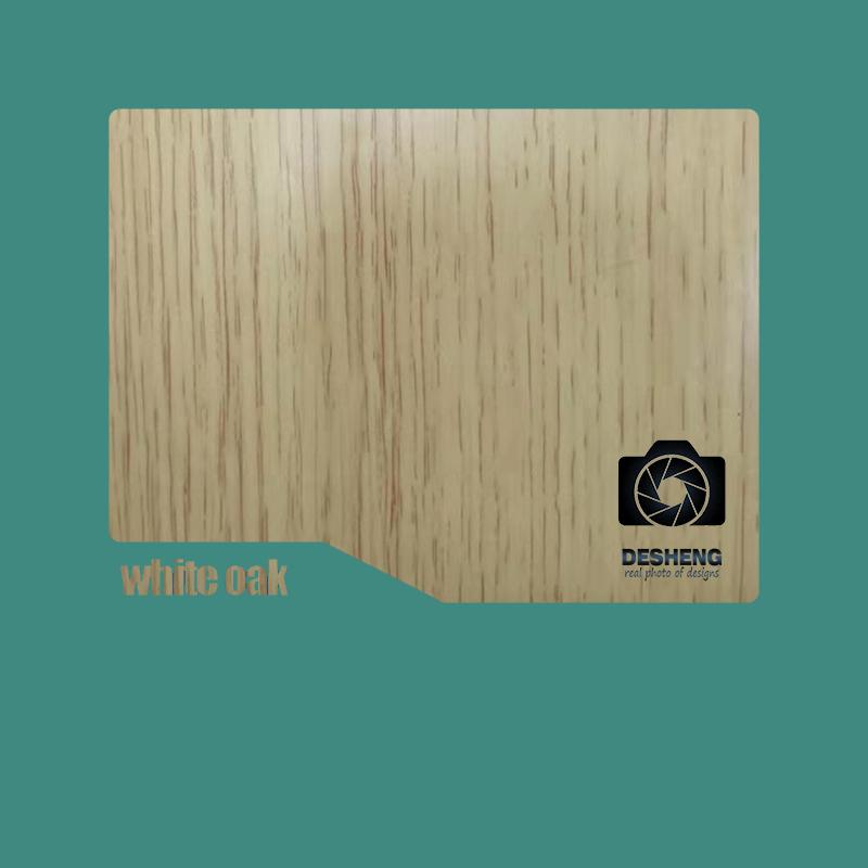 Desheng Wood Industry-Best European Impressionism Pvc Door Ds-v23 Manufacture-10