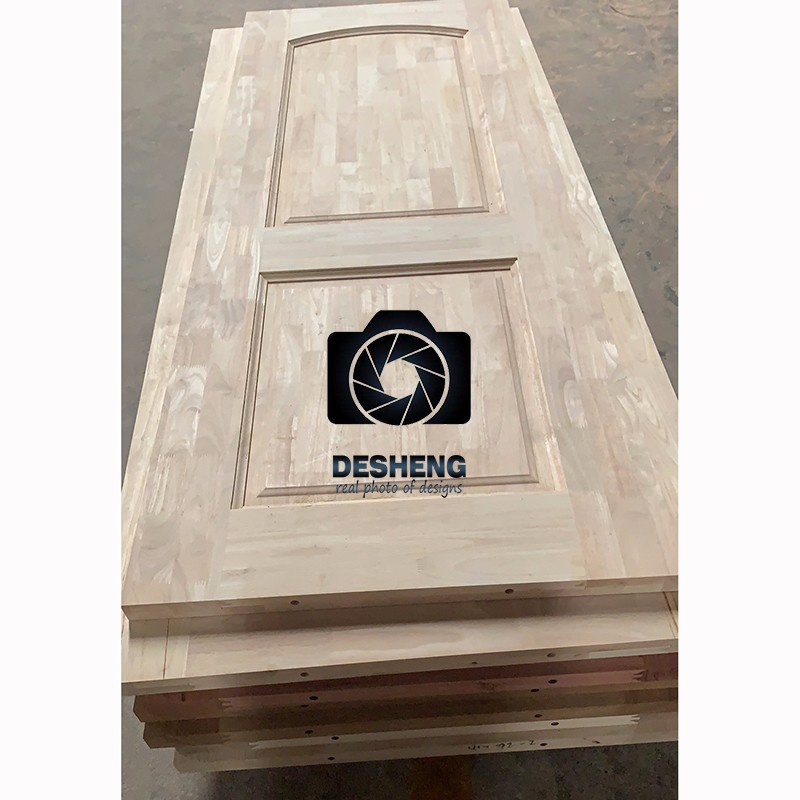 Desheng Wood Industry-Solid Wood Kitchen Doors, 6 Panel Solid Wood Interior Doors Manufacturer-8