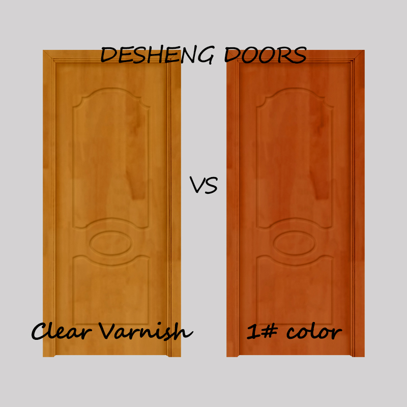 Desheng Wood Industry-Solid Wood Kitchen Doors, 6 Panel Solid Wood Interior Doors Manufacturer-9