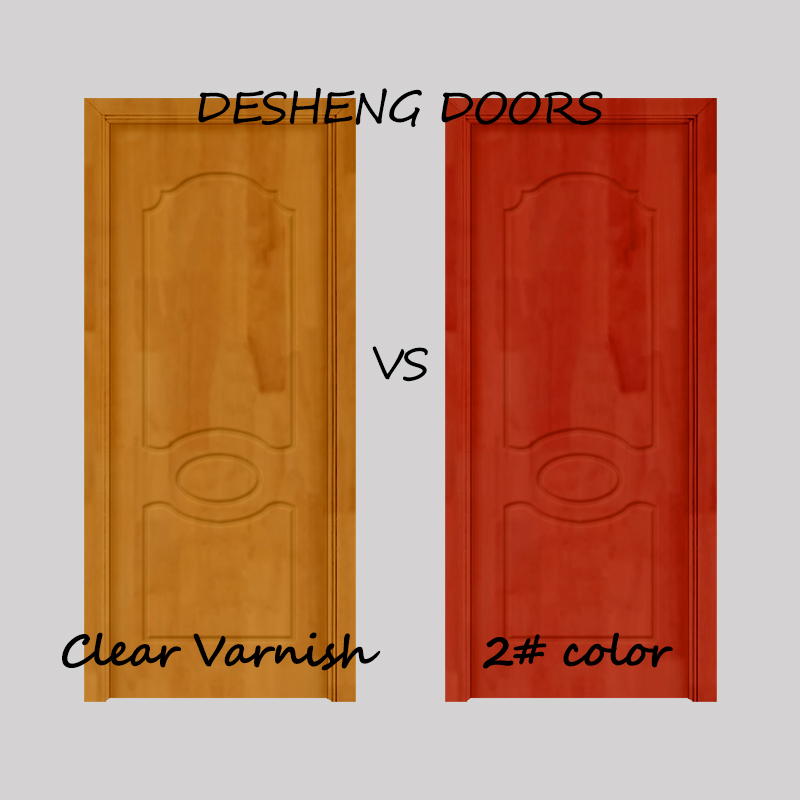 Desheng Wood Industry-Solid Wood Kitchen Doors, 6 Panel Solid Wood Interior Doors Manufacturer-10