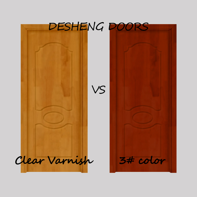 Desheng Wood Industry-Solid Wood Kitchen Doors, 6 Panel Solid Wood Interior Doors Manufacturer-11