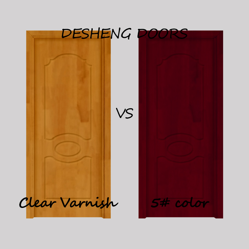 Desheng Wood Industry-Solid Wood Kitchen Doors, 6 Panel Solid Wood Interior Doors Manufacturer-12