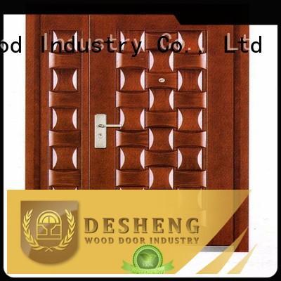 high end aluminium doors for sale luxury for villa Desheng Wood Industry