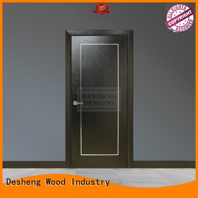 Desheng Wood Industry walnut veneer doors office door for sale