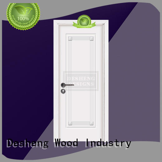 durable painting Solid wood composite door supplier for office