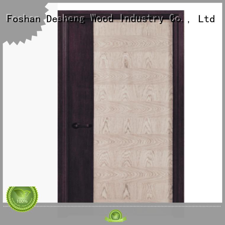 facade Chipboard doors manufacturer for american market Desheng Wood Industry