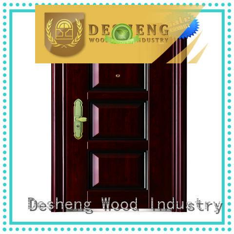 aluminium sliding doors supplier for countryard Desheng Wood Industry