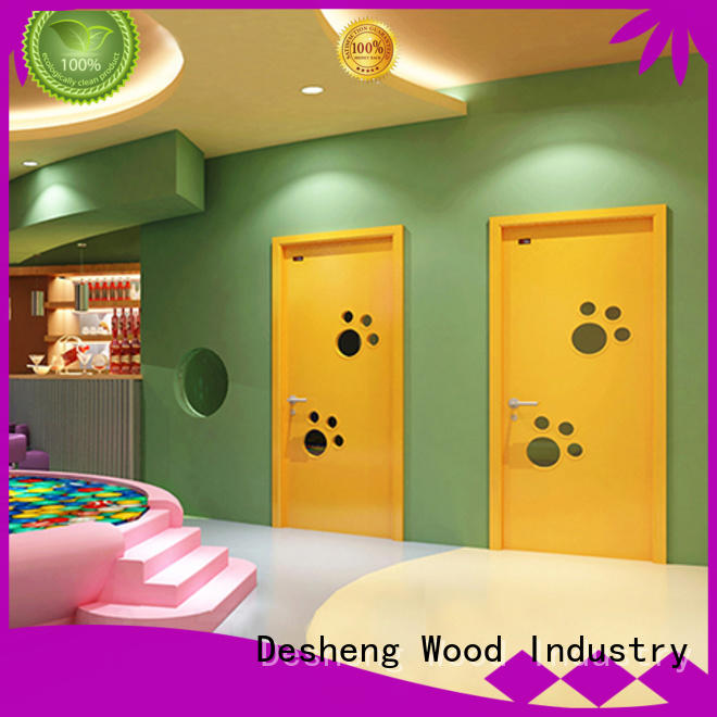 hardboard door office door for sale Desheng Wood Industry