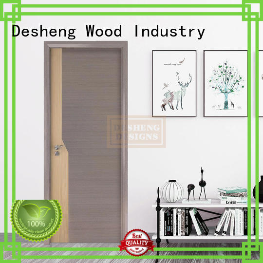 Desheng Wood Industry plywood doors online manufacturer for hospital
