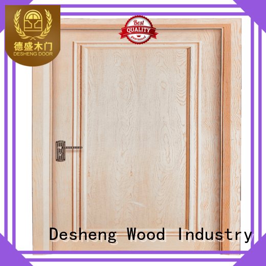 ray Chipboard doors supplier for hotel Desheng Wood Industry