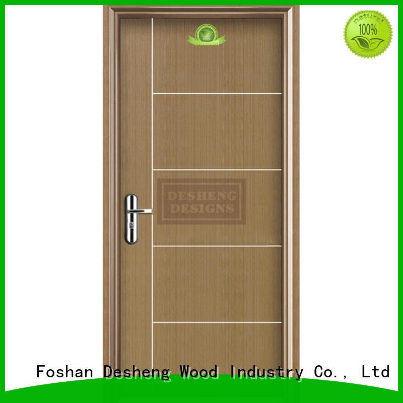 Desheng Wood Industry rotated modern composite doors supplier for villa