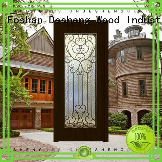 aluminium sliding doors for countryard Desheng Wood Industry