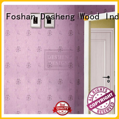 Desheng Wood Industry crisscross laminated mdf panels full seal edging for office