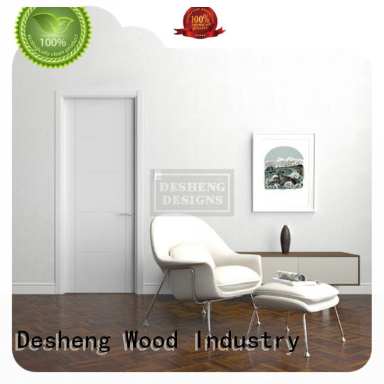 Desheng Wood Industry circular solid wood entry doors manufacturer for hotel