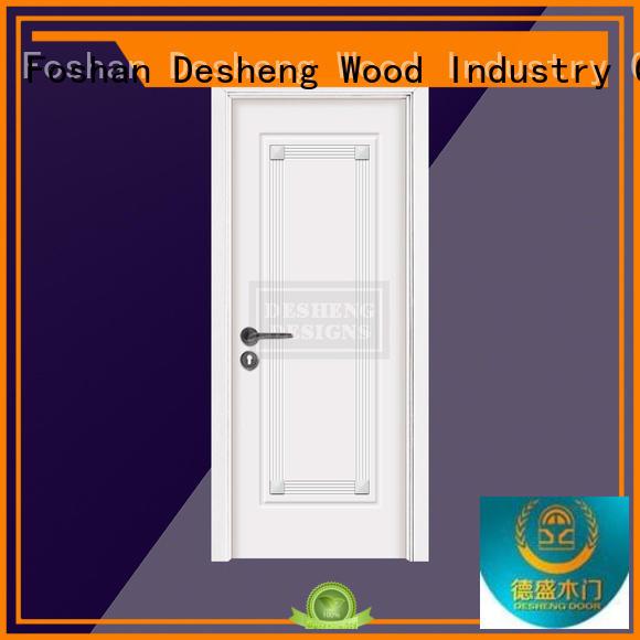 wood panel door wholesale for sale Desheng Wood Industry