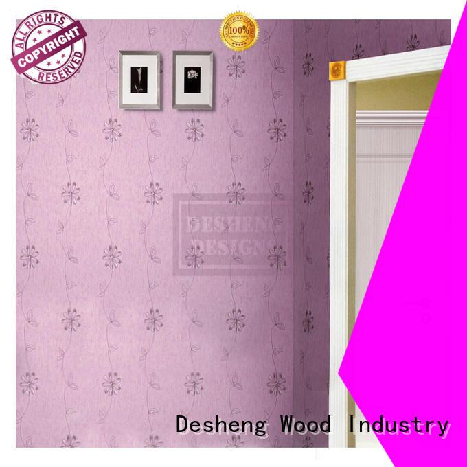 Desheng Wood Industry mdf door frames full seal edging for school