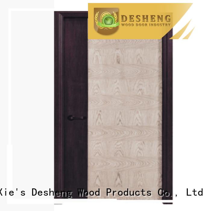 Desheng Doors solid hollow door wholesale for hotel