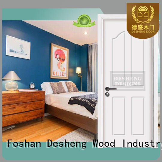full suit of veneered solid wood composite PVC door with fir wood jamb