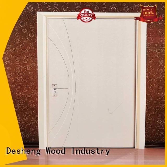 hollow wood doors for villa Desheng Wood Industry
