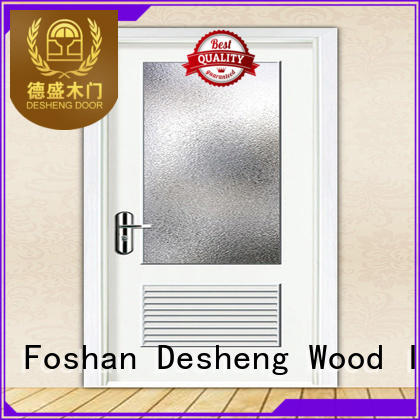 wood veneered doors kindergarten door for sale Desheng Wood Industry