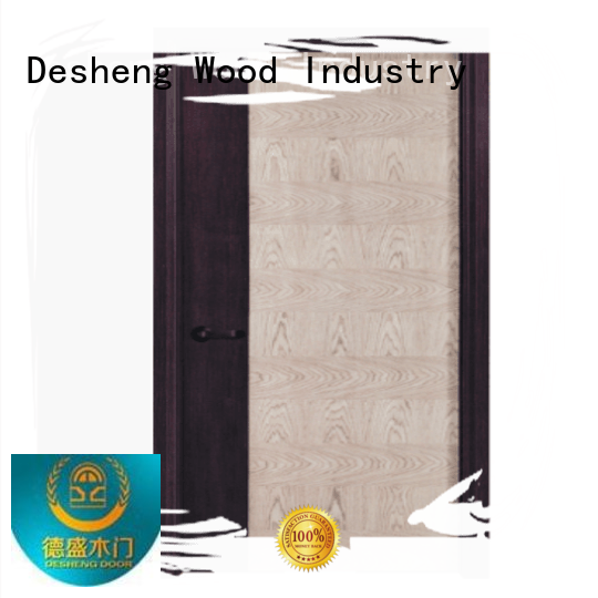 Desheng Wood Industry solid hollow wood doors for hotel