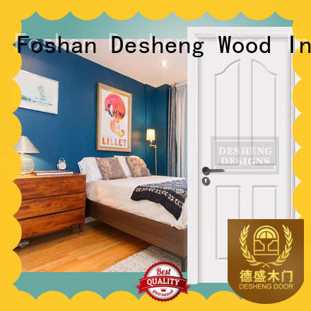 Desheng Wood Industry pvc sliding door with packaging for hospital