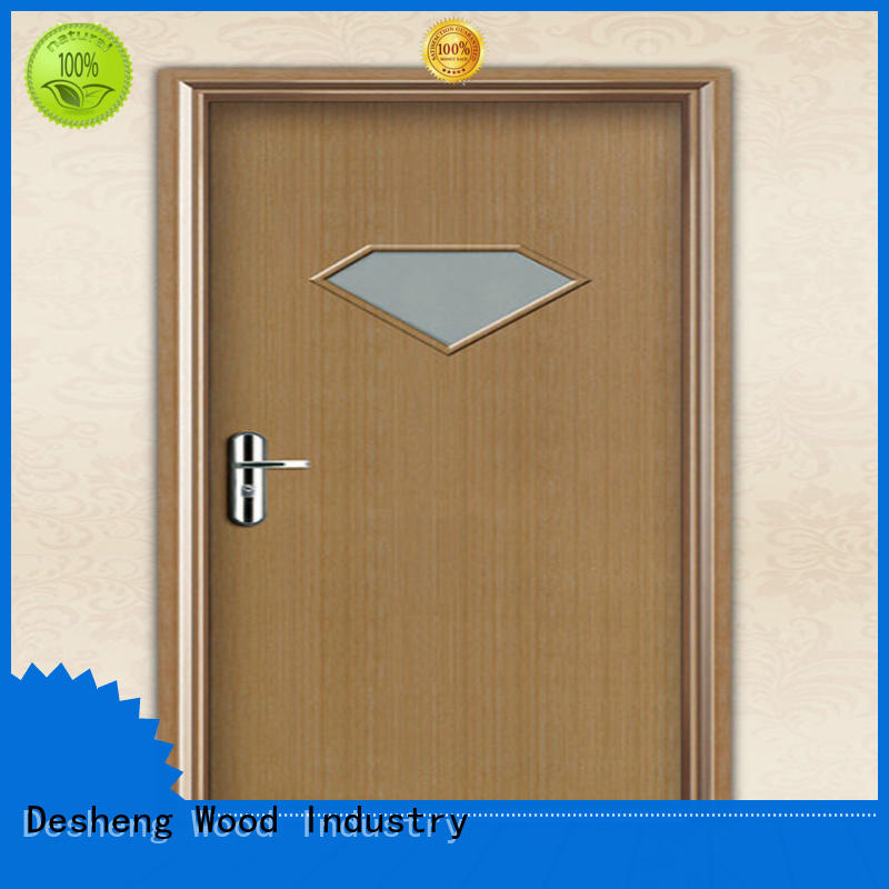 teakwalnut veneer doorswith frosted glassfor sale