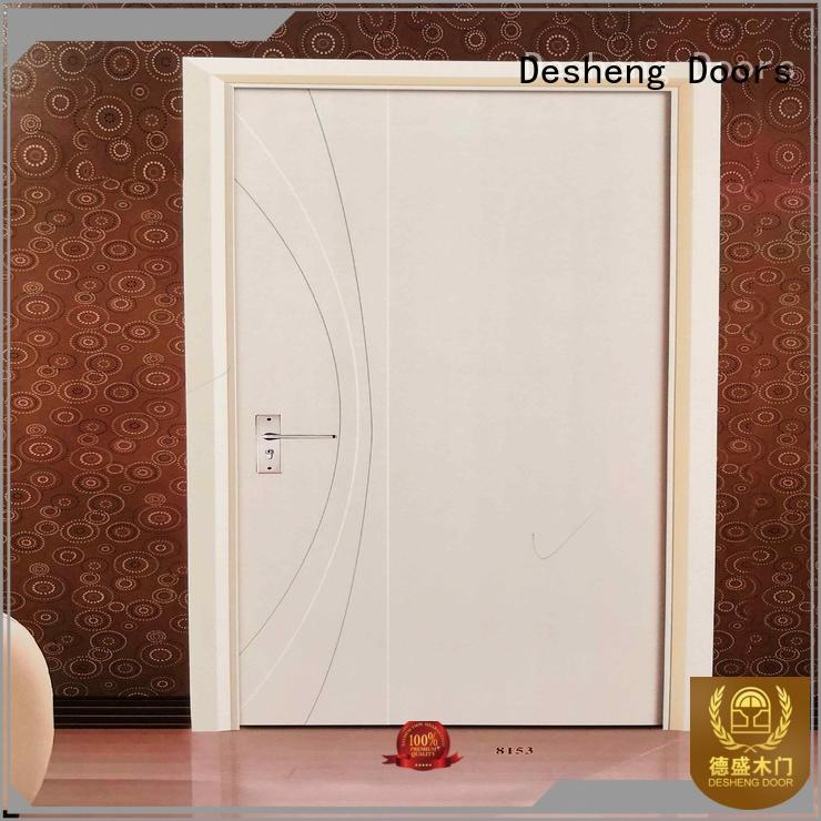 Desheng Doors white tubular chipboard supplier for villa
