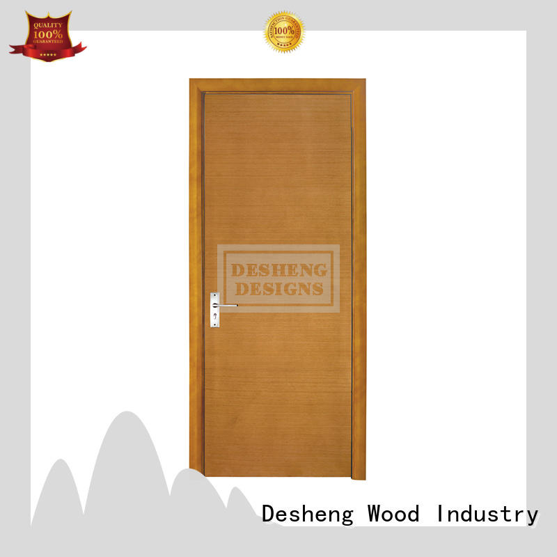 Desheng Wood Industry french veneer door design catalogue for bathroom