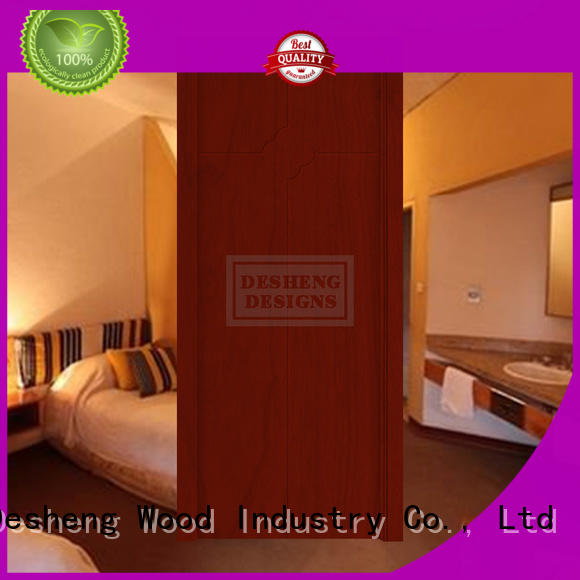 Desheng Wood Industry durable painting solid core composite door surface for high temperature area