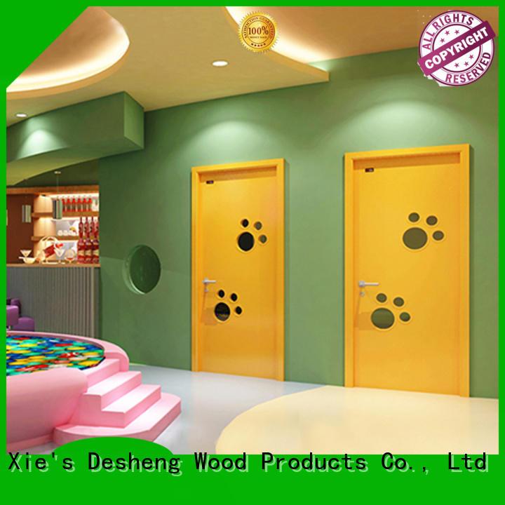 Desheng Doors american interior hollow core doors for sale residence door for bathroom